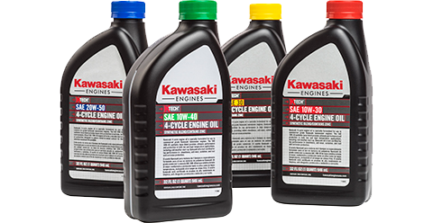 kawasaki 4-cycle engine oil | small engines - lawn mower engines