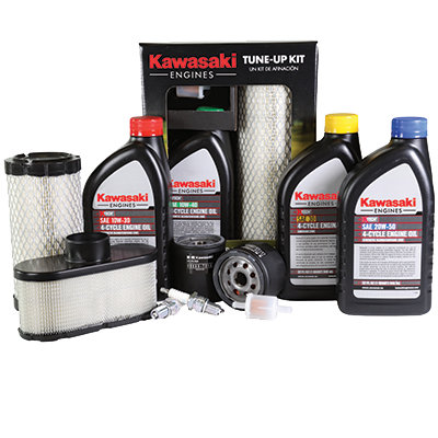 our premium engine oil, specially-designed engine tune-up kits, and air,  fuel, and oil filters work to keep you in kawasaki power  plus we offer  short block